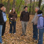 A class on Nature Writing with visiting professor David Rains Wallace in 2008.