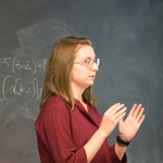 Kyla Pohl explains her research on Leibniz algebras.