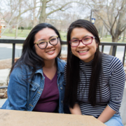 Jenny Nguyen '17 (Monterey Park, Calif.) and Trixie Dao '18 (St. Paul, Minn.)