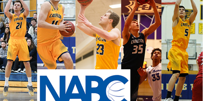 Five Knights were named to the NABC Honors Court following the 2016-17 season.