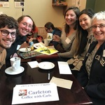 Sitka Carls share coffee and fun
