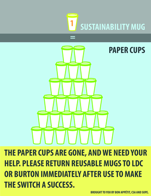 Reusable Mugs are Coming!