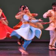 Featured dancers from the Katha Dance Theatre.