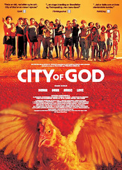 "Promotional poster for ""City Of God""(2002)"