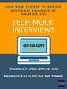 Tech Mock Interviews with Sam Tucker '11 (Amazon)