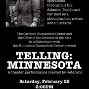 Saturday Feb 22, 2 pm, Weitz Center Theater Free and open to the public!