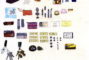 Elise Engler, Everything in her bag