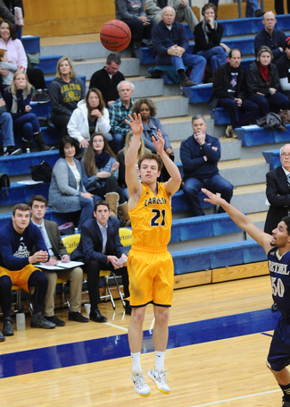 Three-point specialist Mitch Biewen '17 led the Knights in 3-point FG's made last season.