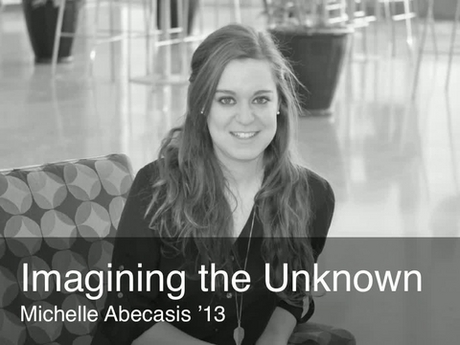 A placard image for media work Michelle Abecasis - Imagining the Unknown *new*