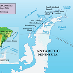 Expedition to Antarctica - Itinerary Map