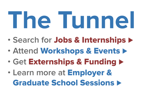 The Tunnel: Find jobs, internships, events, funding, employer sessions, and more...