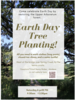 Earth Day Tree Planting 2019 publicity poster