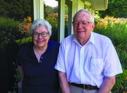 Yvonne Connolly Martin '58 and Bill Martin