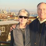 Steve and Penny in Istanbul