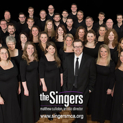 Image of the choral ensemble, The Singers.