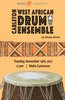 West African Drum Poster