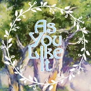 "Graphic image for the production of ""As You Like It."""