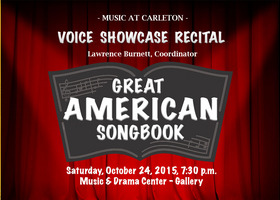 Students present selections from the Great American Songbook.