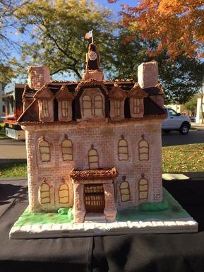 Carleton's 150th Birthday Celebration Cake - Willis Hall!