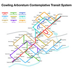 Contemplative transit system project by Professor David Lefkowitz.