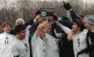 Knights Celebrate MIAC Playoff title