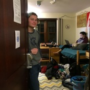 Alex welcomes us into his (messy) room!