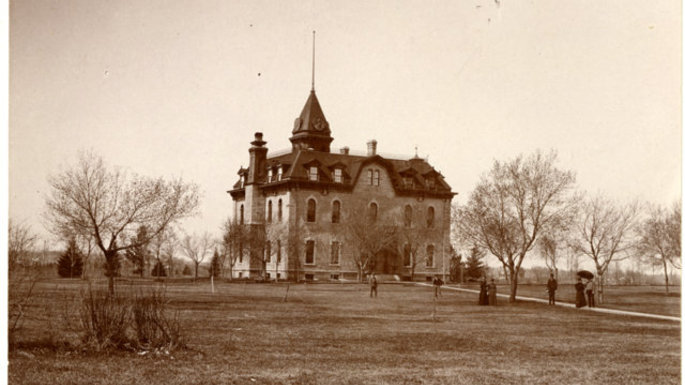 1880 Willis Hall Rebuilt after fire