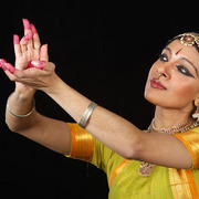 Aparna Ramswamy, Class of 1997, artistic director and principal dancer of the Ragamala Dance Company