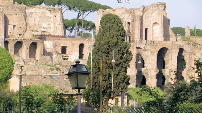 A View of the Palatine