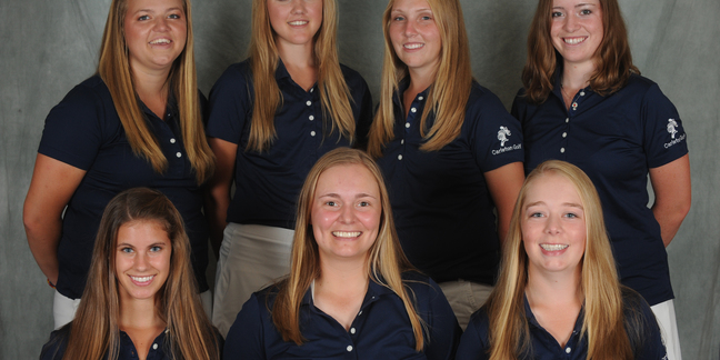 Carleton College women's golf- Fall 2013