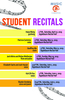 Student Recitals for Spring 2019