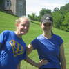 Julia Gatenby and Caitlyn Meyer '08