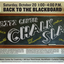 Weitz Center Chalk Slam poster