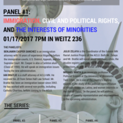 Panel 1: Immigration, Civil & Political Rights, & the Interests of Minorities
