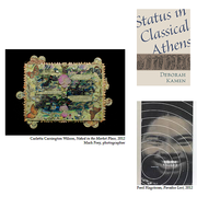 Works by Carletta Carrington Wilson, Deborah Kamen and Fred Hagstrom.