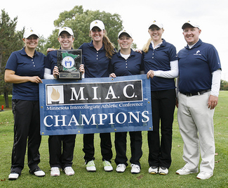 The Women's golf team finished 1st at the 2014 MIAC Meet and finished 6th at the NCAA Championships