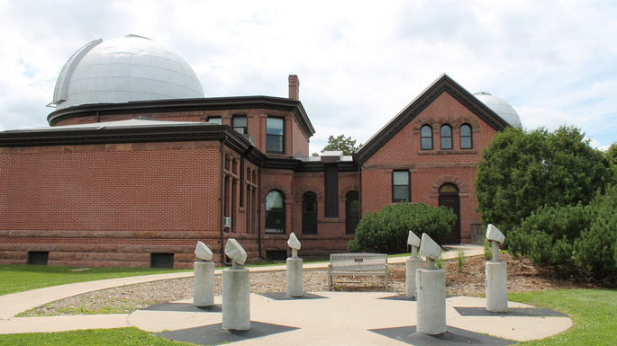 A view of Goodsell Observatory July 2015