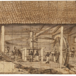 <strong>Figure 2.</strong> Frans Post, <em>Hydro-powered Sugarmill in Brazil</em>
