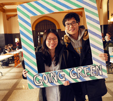 Students attending the 2019 Climate Action Week kickoff.