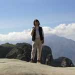 Nancy Wilkie at Meteora