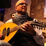 Syrian oud player Issam Rafea