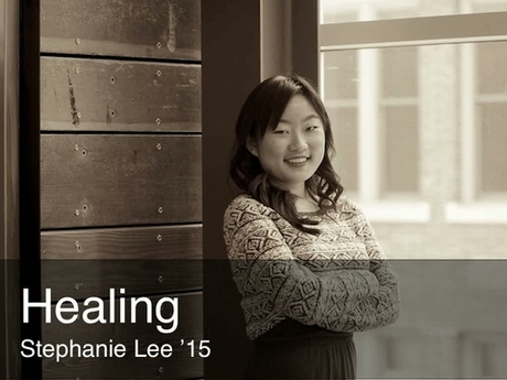 A placard image for media work Stephanie Lee - Healing *new*