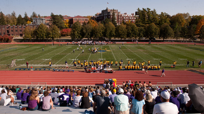 Laird Stadium during a Carleton home football contest