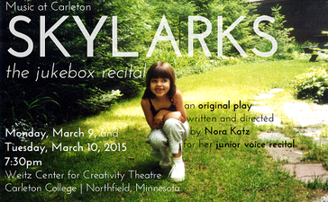 Skylarks: The Jukebox Recital