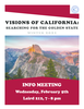 California Info Session Poster