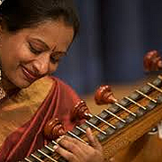 Nirmala Rajasekar, a world-renowned Carnatic veena musician.