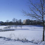 View of Lyman Lakes in Winter