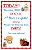 2nd Lei, Hist Dept, Tues, 9/18/12, 5 pm!