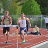 Men's Track & Field action