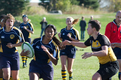 Women's rugby is one of many club sports that benefit from CAI.